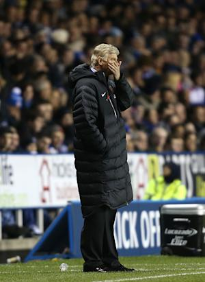 Arsene Wenger was 'very proud of the way' Arsenal 'responded in the second half'