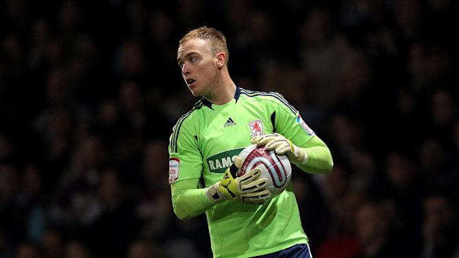 Middlesbrough goalkeeper Jason Steele says he will be going for gold at the Olympics