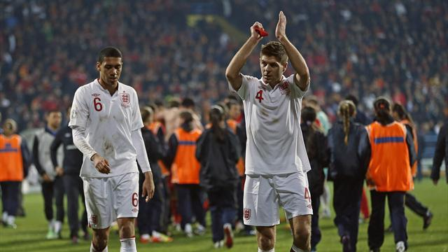 World Cup - Gerrard: England not qualifying is a worry