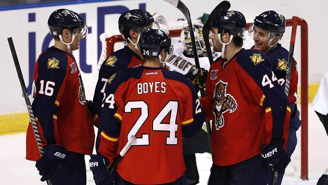 NHL - Panthers snap losing streak with Ducks win
