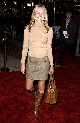 Premiere: Kate Bosworth of The Horse Whisperer at the Westwood premiere of K-Pax - 10/22/2001