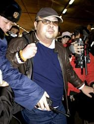 File photo shows Kim Jong-Nam, the elder half-brother of North Korea's leader Kim Jong-Un, arriving at the Beijing airport in 2007. He has been told by a top North Korean regime official not to criticise the communist state, including its hereditary succession, a report said Saturday