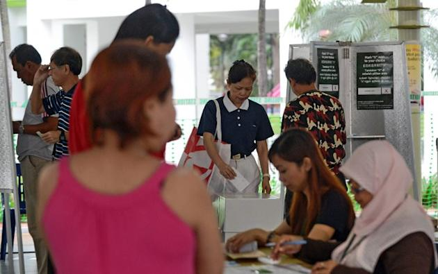 an casting ballots on January 26 in a by-election that tests the public mood two years after the ruling party suffered its worst ever poll performance.