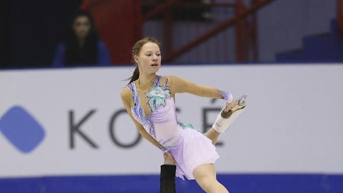 World Junior Figure Skating Championships 2013 - Day 4