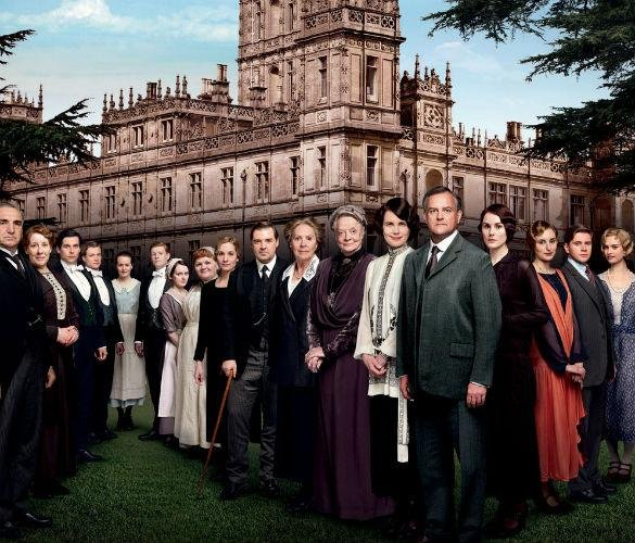 George Clooney Set To Appear In Downton Abbey Christmas Special For Text Santa