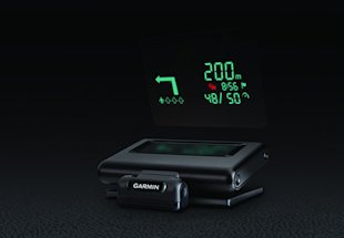 Garmin HUD Keeps Your Eyes on the Road image garmin inline 2