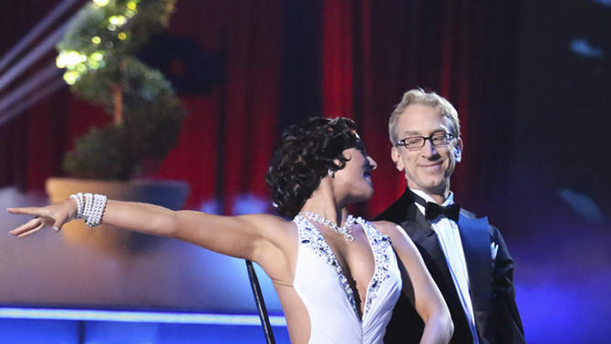 Sharna Burgess and Andy Dick (3/18/13)