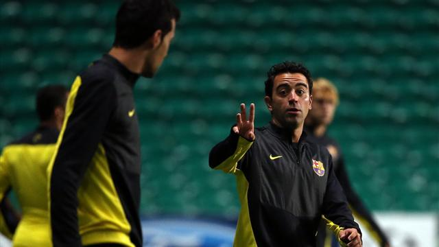 Football - Xavi: I want to manage Barcelona