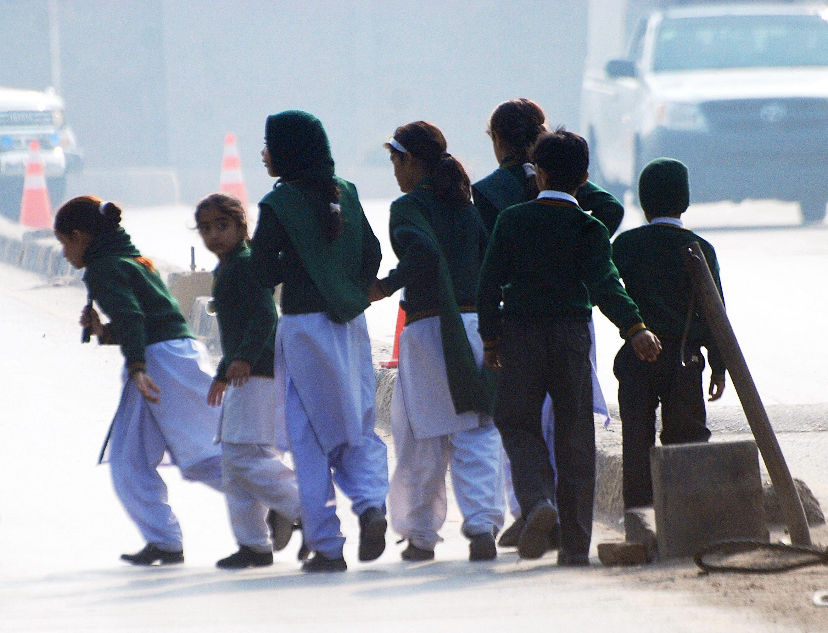 Pakistani officials say siege at school over