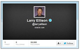 How The Fourth Richest Person On The Planet Goofed At Twitter image Larry Ellison Twitter 06 13