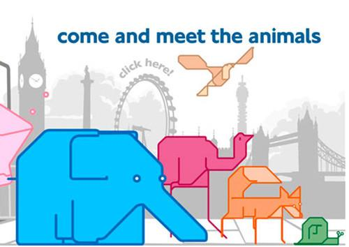 WEBSITE OF THE DAY: Animals on the Underground . WebsiteOfTheDay, Websites, Software, Online 0