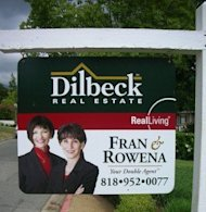 Embrace Your Inner Realtor When Selling Social Media image Fran and Rowena for sale sign 293x300