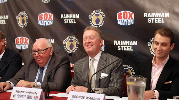 Boxing - Frank Warren Press Conference - Grosvenor House