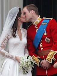 royal wedding kiss