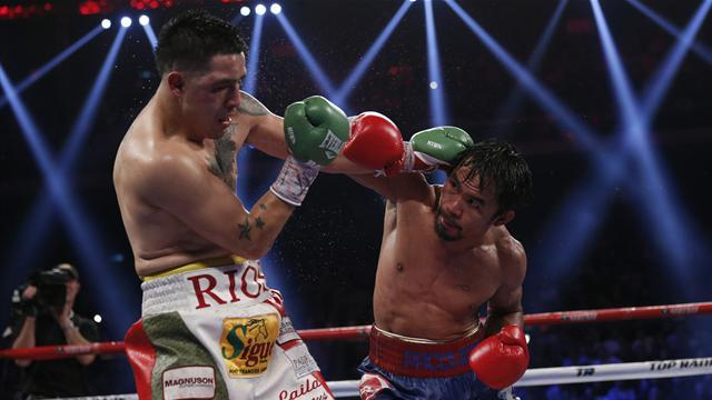 Boxing - Rios denies doping for Pacquiao fight