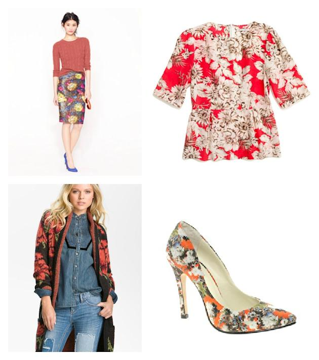 F is for Fall Florals