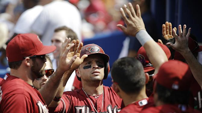 Miley, Diamondbacks end Braves' win streak, 3-1