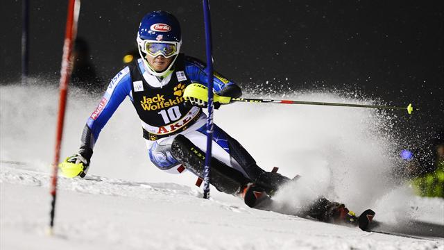 Alpine Skiing - Shiffrin wins in Flachau to equal Moser-Proell