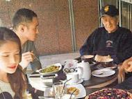 Ethan Ruan spends CNY with 'in-laws'