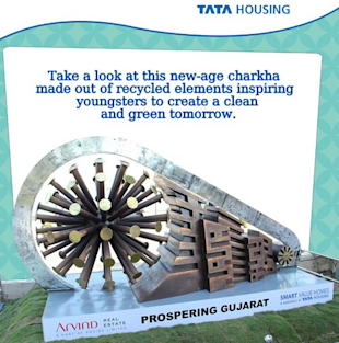 Tata Housing Promotes The New Age Charkha On Social Media image Tata Housing Facebook