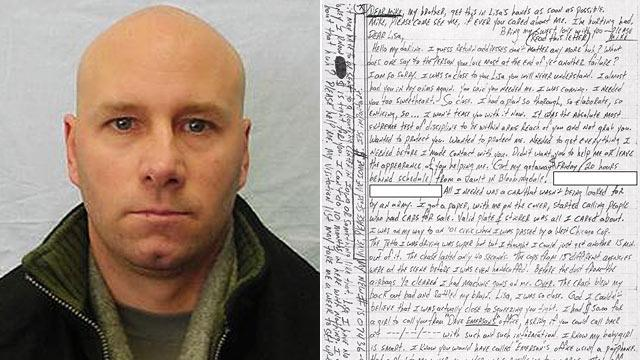 Love Letter Helps Convict Robber