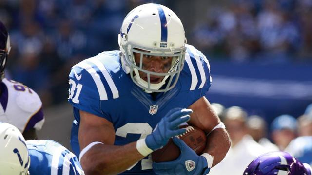 Indianapolis Colts running back Brown out after knee surgery