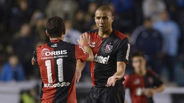 South American Football - Trezeguet strikes twice as Newell's recover for draw