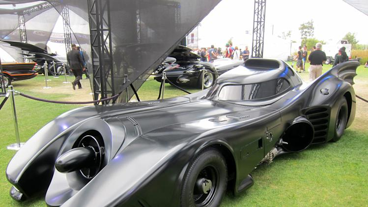 "The ""Michael Keaton"" Batmobile from 1989's 'Batman' - San Diego Comic-Con 2012"