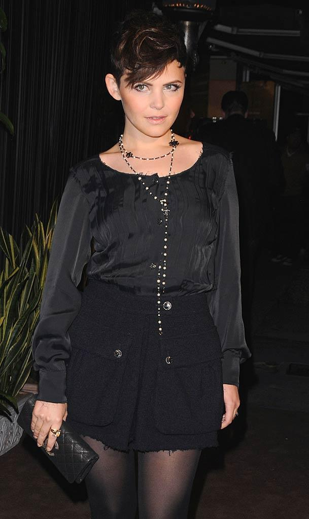 Ginnifer Goodwin Chanel Prty