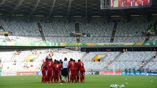 Confederations Cup - If Spain score 20, Tahiti coach will be happy with one