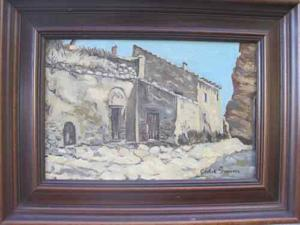 Botched fresco artist's painting for sale