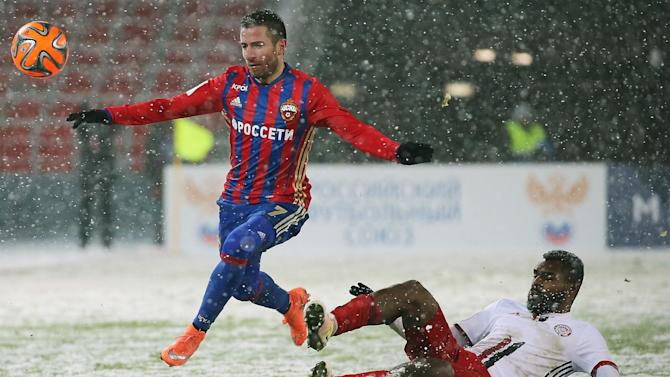CSKA Moscow swap Russia for Spain... and still get snowed under!