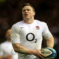 Stuart Lancaster has spoken to Chris Ashton, pictured, about his discipline and tackling technique
