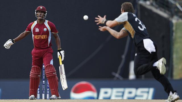 WI send NZ home in Super Over thriller at World T20
