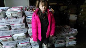 Girl Who Lost Family in Fire Receives 195,000 Christmas …