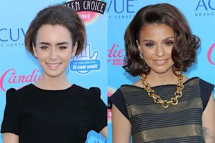 Lily Collins and Cher Lloyd (Courtesy of PR Images)