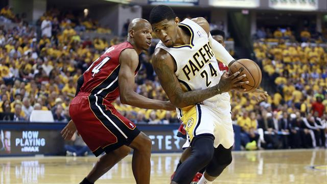 Basketball - George signs multi-year contract extension with Pacers