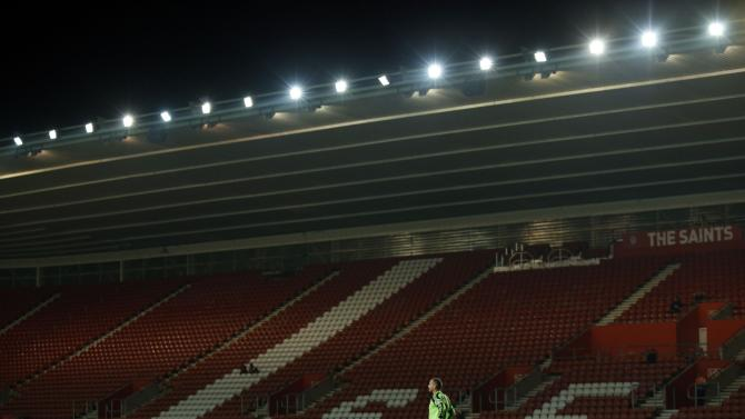 Soccer - Capital One Cup - Third Round - Southampton v Bristol City - St Marys Stadium