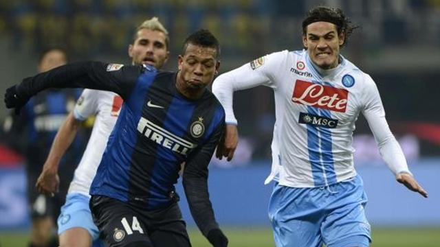 Serie A - Tottenham £17m Guarin offer rejected