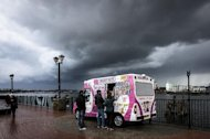 The UK is expected to experience windy, rainy conditions as the remnants of Hurricane Gonzalo move in