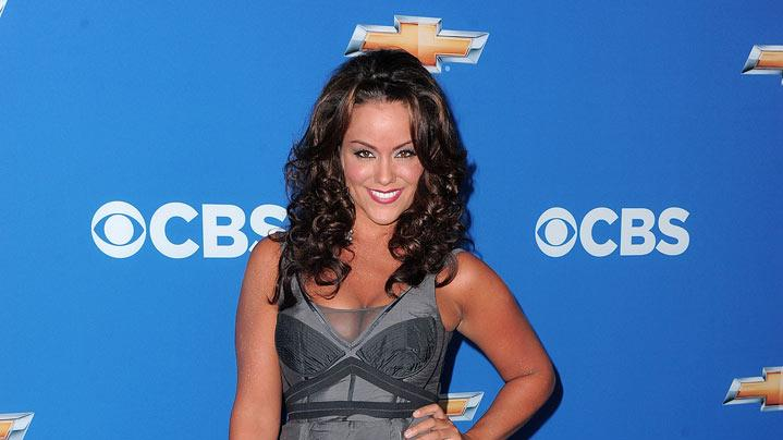 "Katy Mixon of ""Mike & Molly"" arrives at the CBS Fall Season Premiere party at The Colony on September 16, 2010, in Los Angeles."