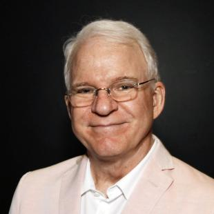 "FILE - In this June 23, 2014 file photo, Steve Martin poses during ""The Un-Private Collection: Eric Fischl and Steve Martin,"" an art talk presented by The Broad museum in Santa Monica, Calif. Martin will receive the American Film Institute's 43th Life Achievement Award at a private ceremony on June 4, 2015, in Hollywood.  (Photo by Ryan Miller/Invision/AP, File)"