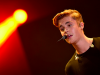 Justin Bieber Sets The Stage On Fire