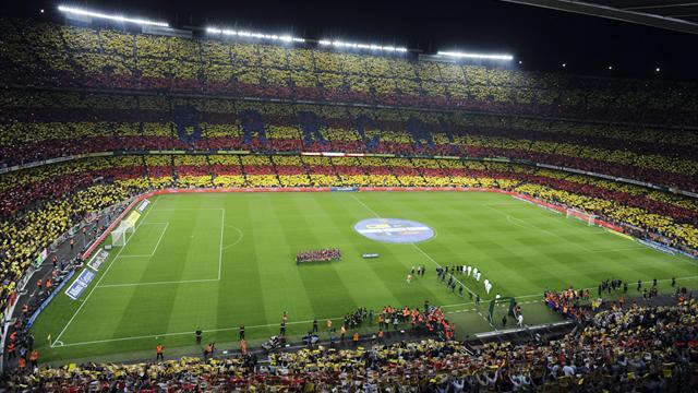 Liga - Camp Nou set for second 'Catalan' display of season