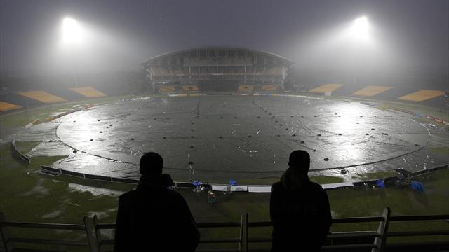 Cricket - Rain washes out second ODI in Hambantota