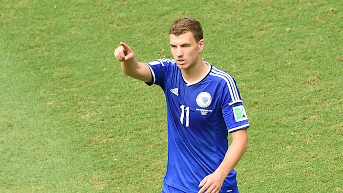 Euro 2016 - Bosnia coach slammed after Dzeko injury leaves him with NO strikers