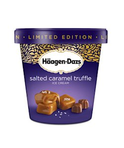 Limited Edition Häagen-Dazs Salted Caramel Truffle Ice Cream