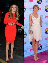 Jennifer Lopez/Taylor Swift -- Getty Images