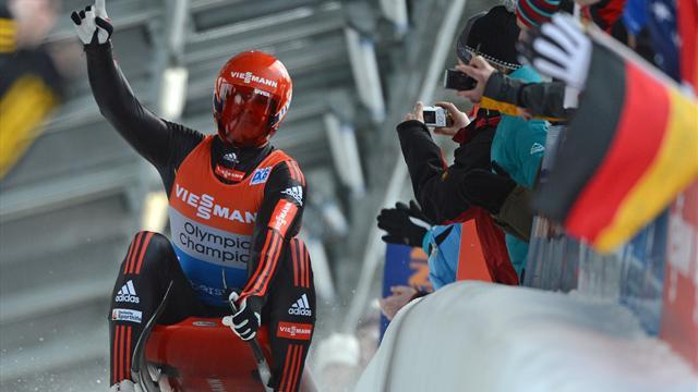 Luge - Germany's dominance completed with relay win
