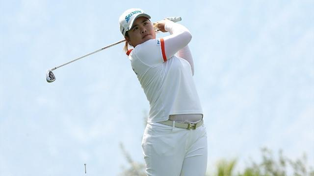 Golf - Park fires into lead of Kraft Nabisco Championship